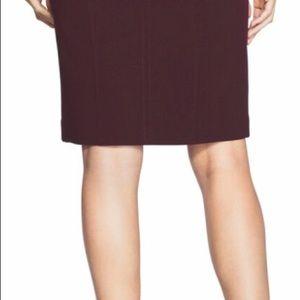 White House Black Market Skirts - White House Black Market Black Cherry Pencil skirt